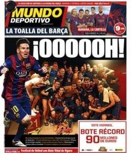 Portada Mundo Deportivo 080515