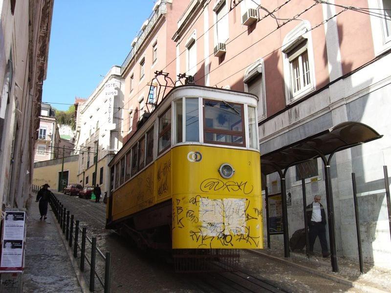 lisboa tranvía funicular