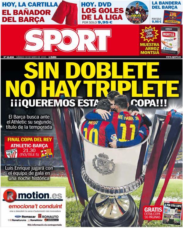 Sport Portada 30.05.15