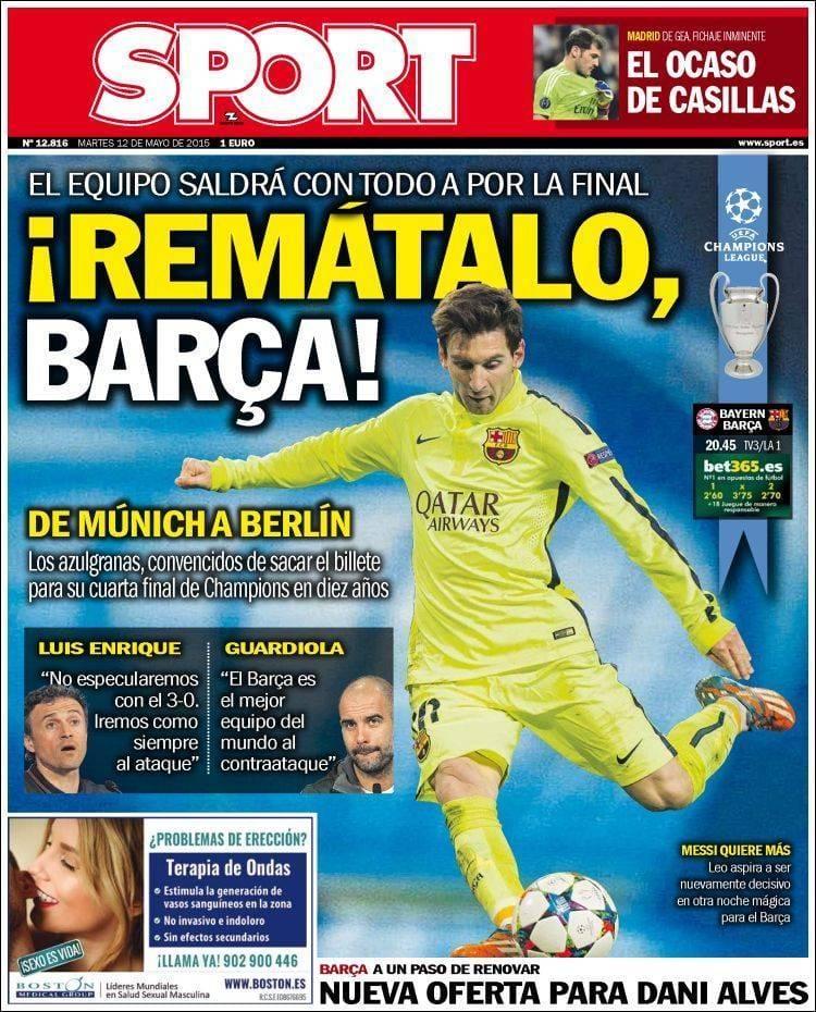 Sport portada 120515