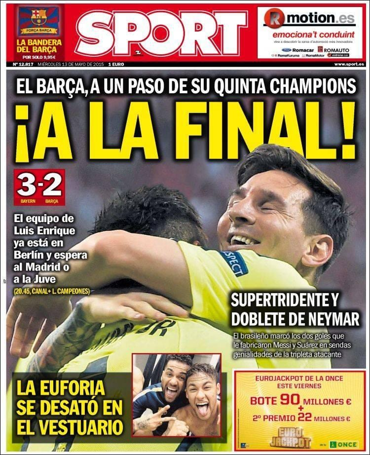 Sport portada 130515