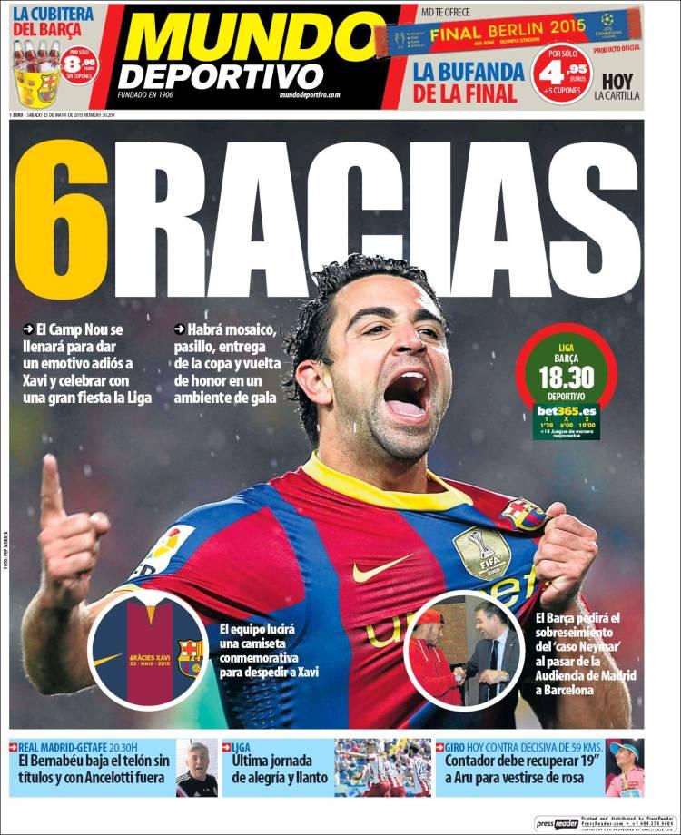 Mundo Deportivo 23.05.15.
