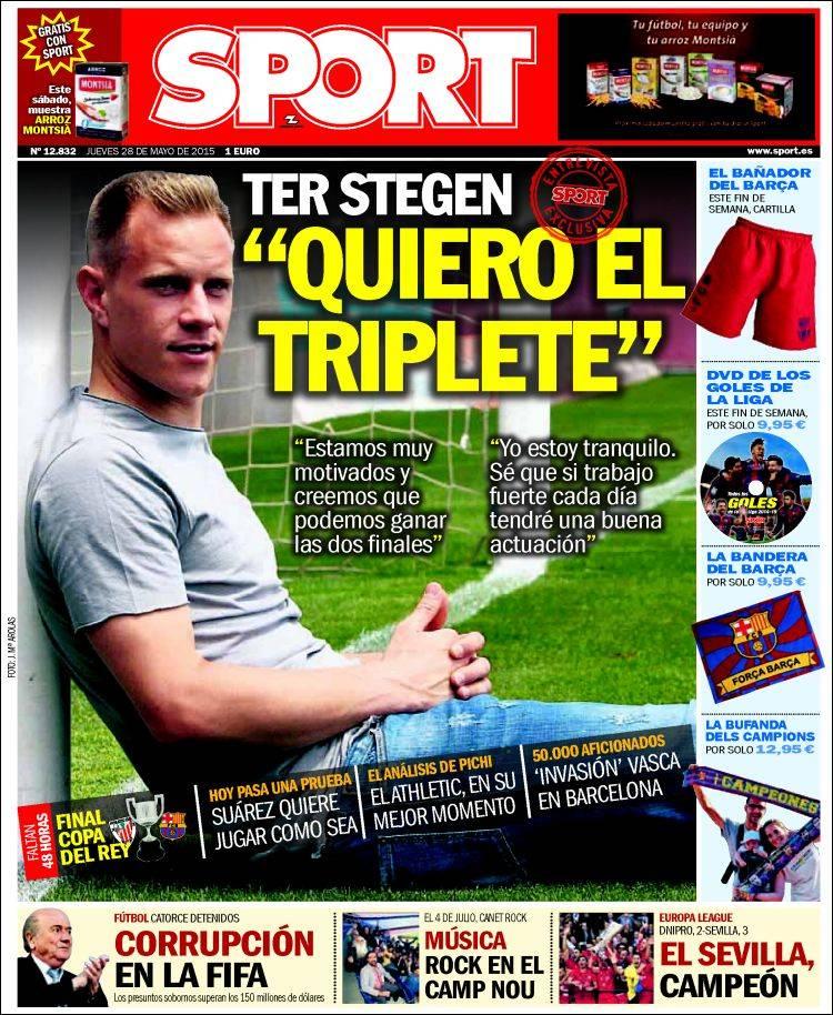 portada de sport 28.05.15.