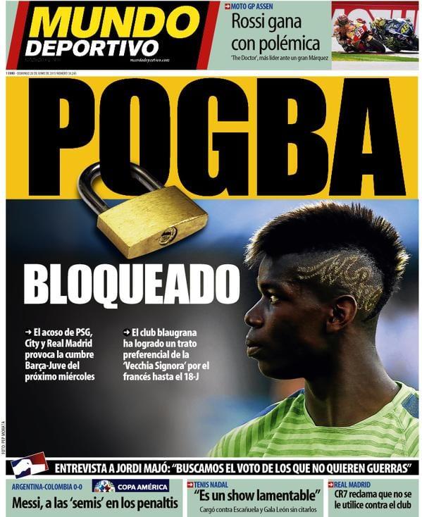 Mundo Deportivo 28.06.15