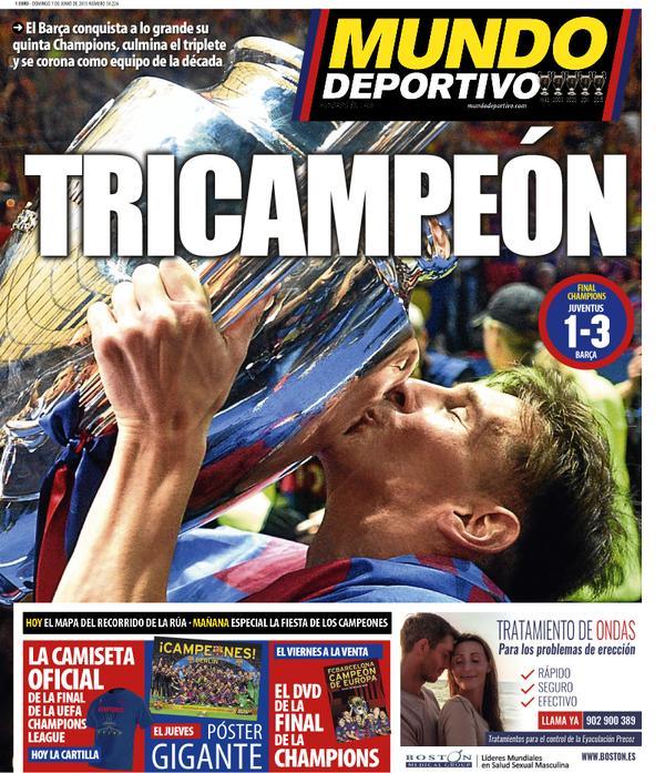 Mundo Deportivo Portada 07.06.15
