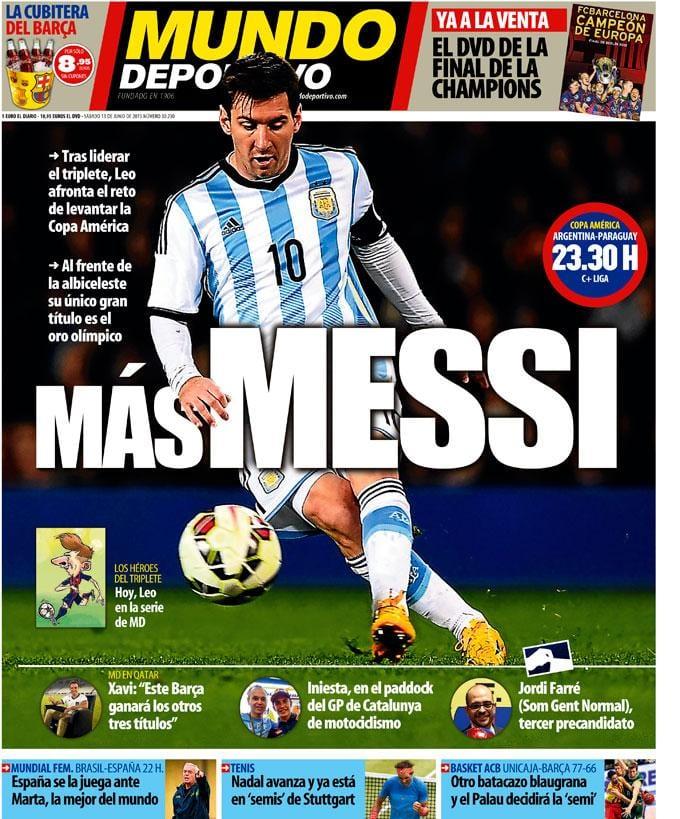 Mundo Deportivo 13.06.15