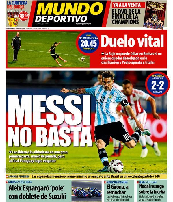 Mundo Deportivo 14.06.15