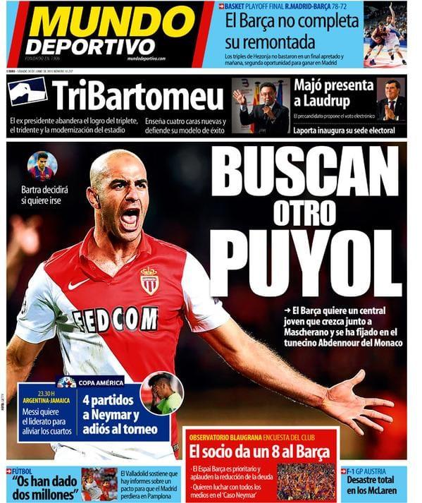 Mundo Deportivo 20.06.15