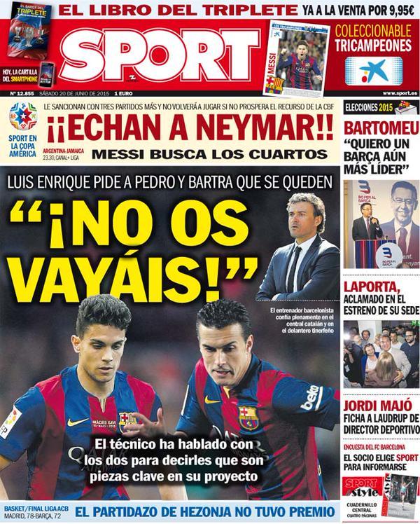 Sport 20.06.15