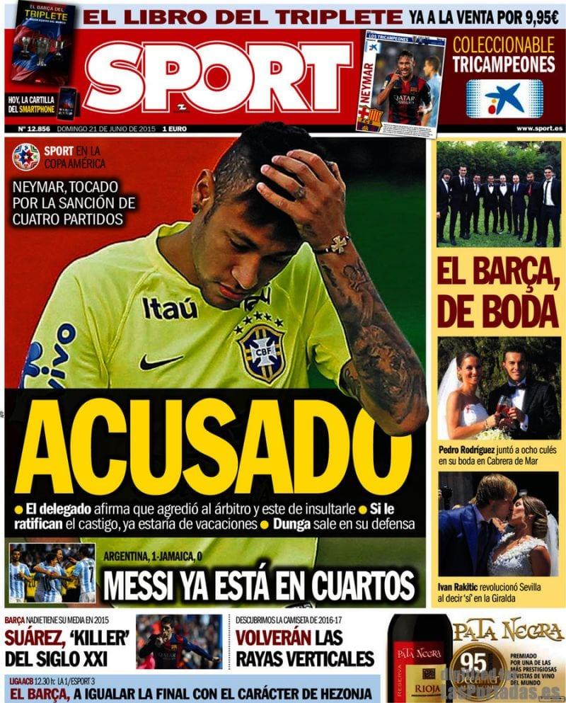 Sport Portada 21.06.15