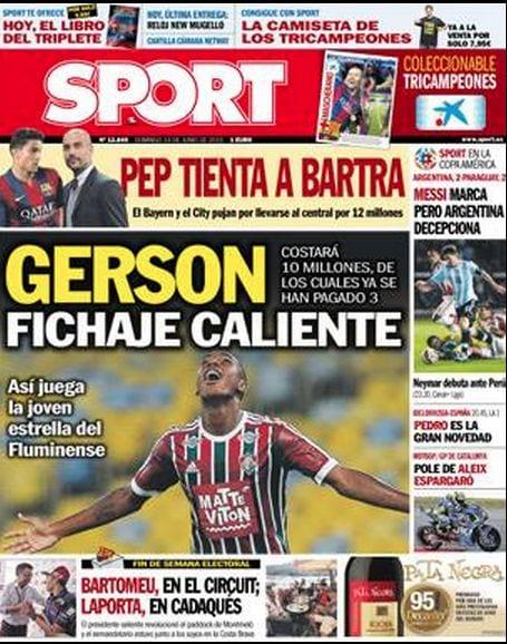 Sport Portada 14.06.15