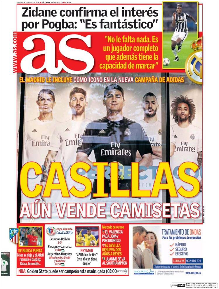 portada as casillas vende camisetas