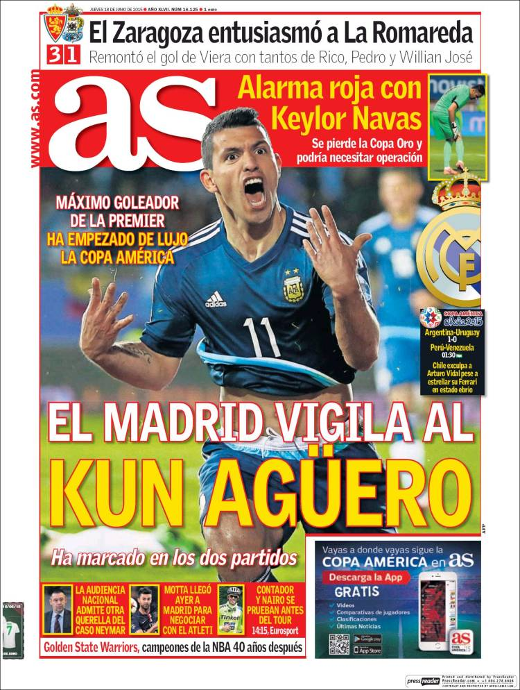 portada as kun agüero