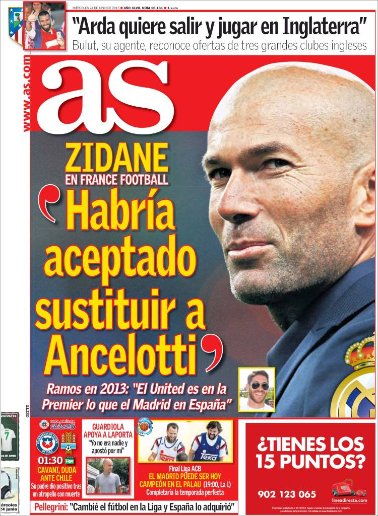 as portada zidane