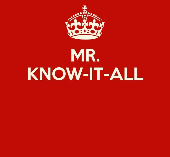 mr-know-it-all