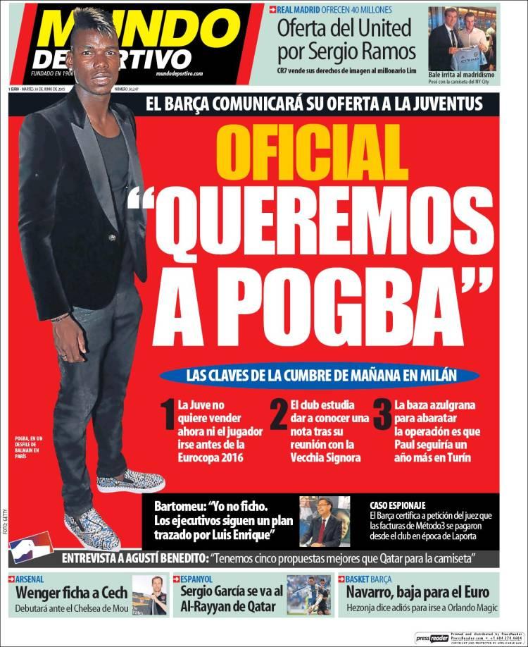 Mundo Deportivo 30.06.15