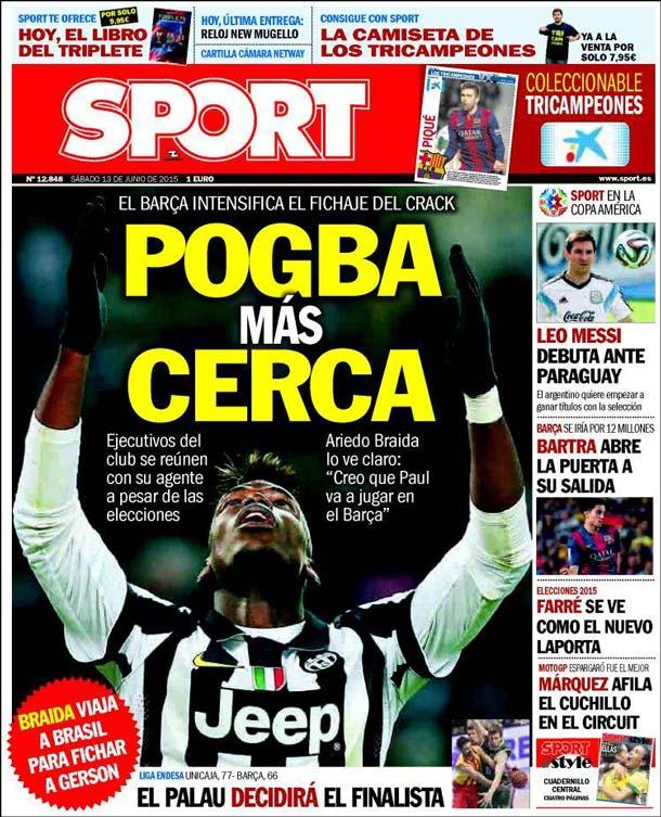 Sport Portada 13.06.15