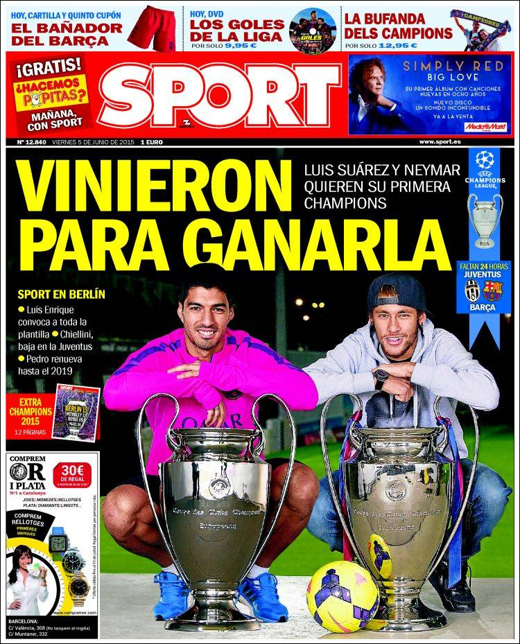 Sport Portada 05.06.15