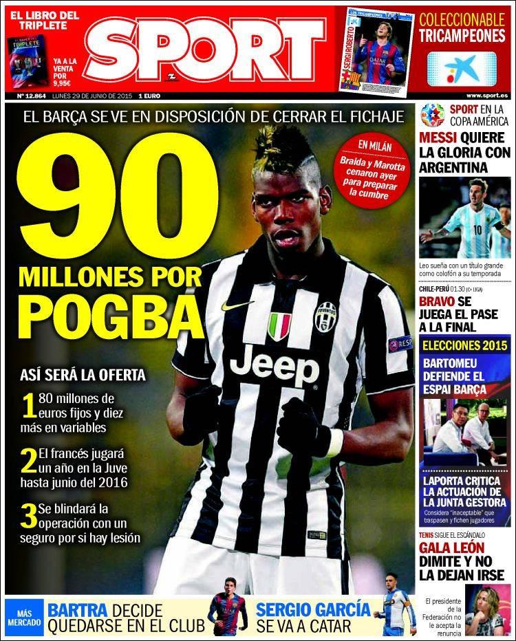 Sport Portada 29.06.15