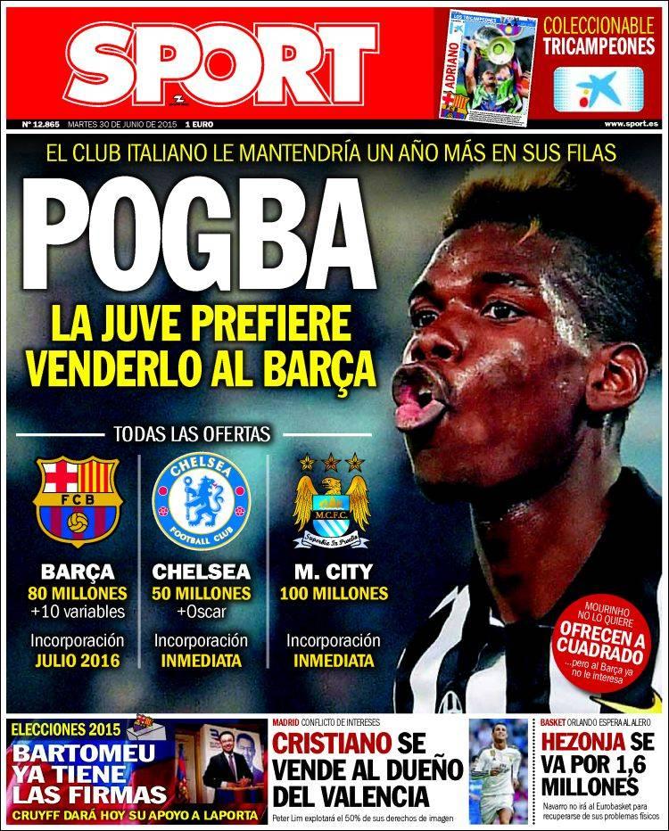 Sport Portada 30.06.15