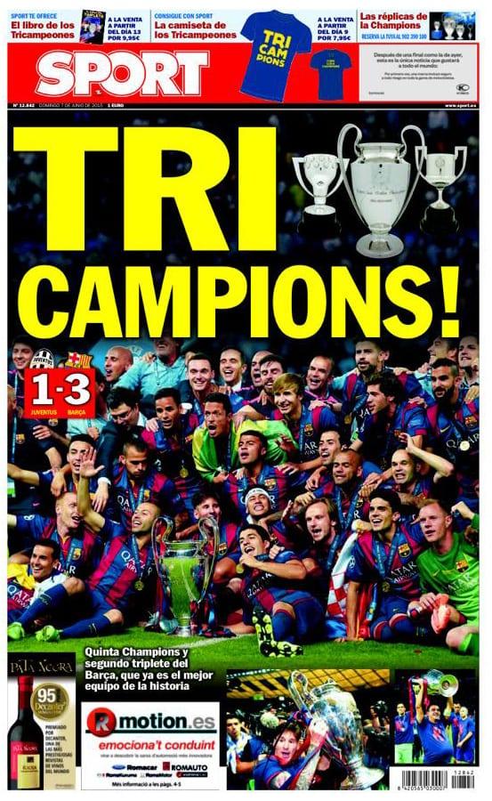 Sport Portada 07.06.15