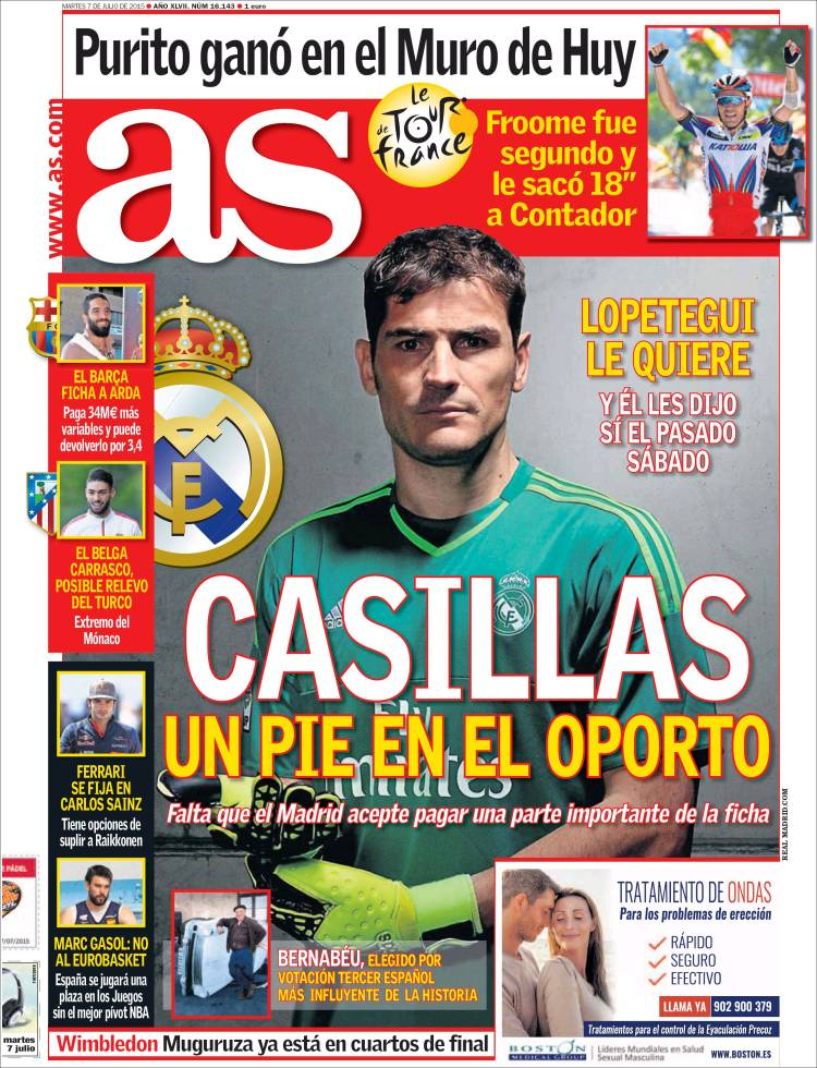portada as casillas oporto