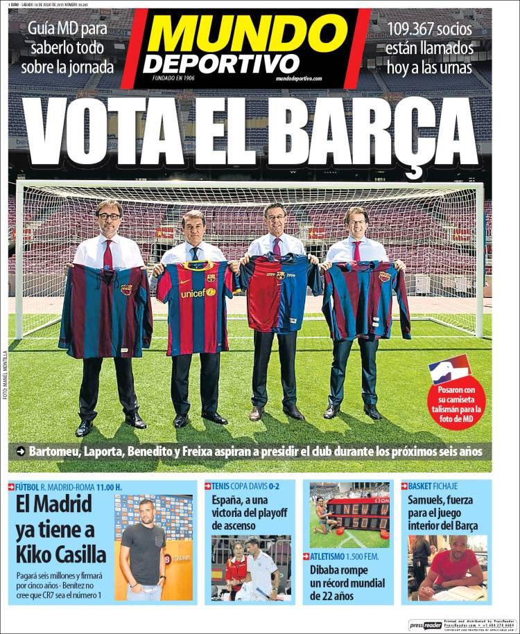 Mundo Deportivo Portada 18.07.15