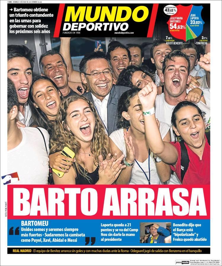 Mundo Deportivo 19.07.15