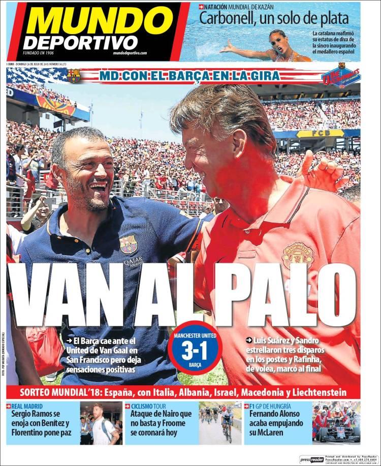 Mundo Deportivo 26.07.15