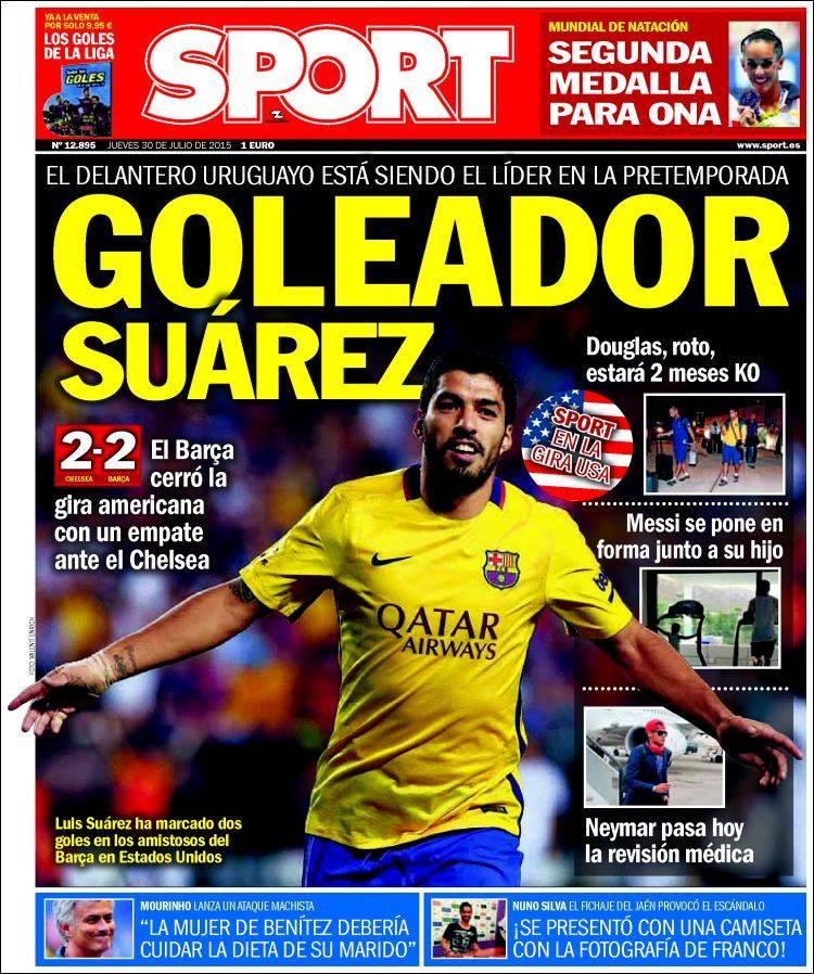 Sport Portada 30.07.15