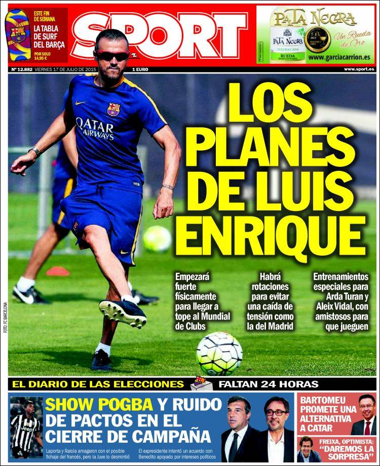 Sport Portada 17.07.15