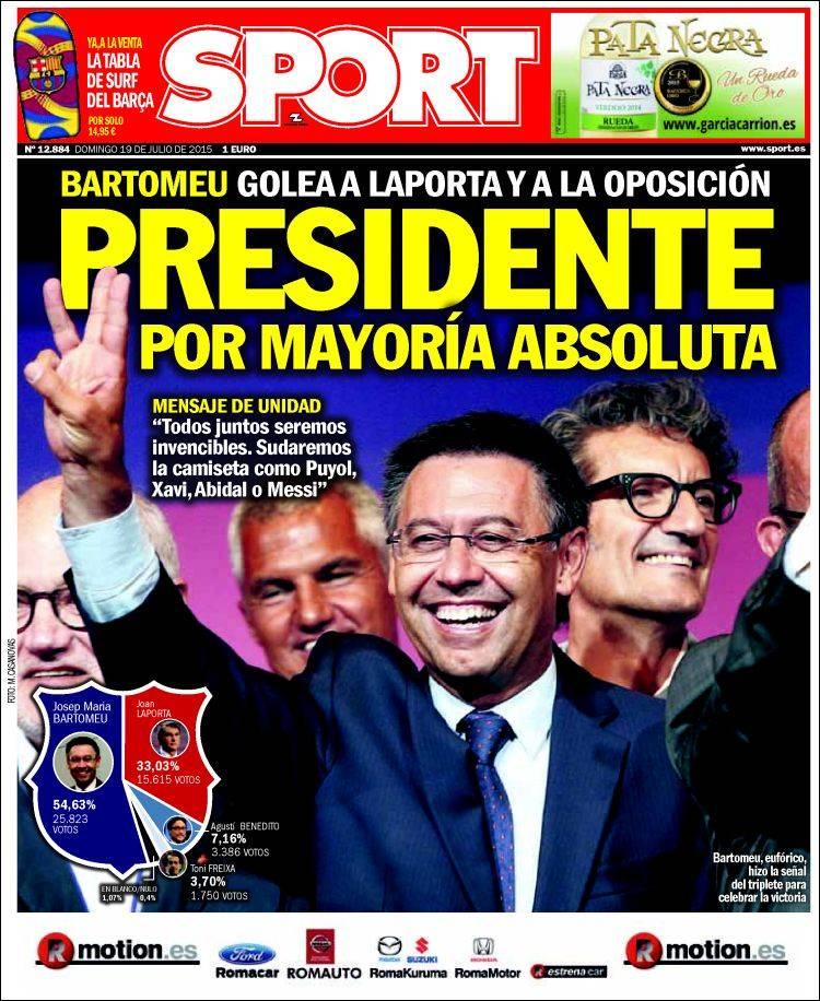 Sport Portada 19.07.15