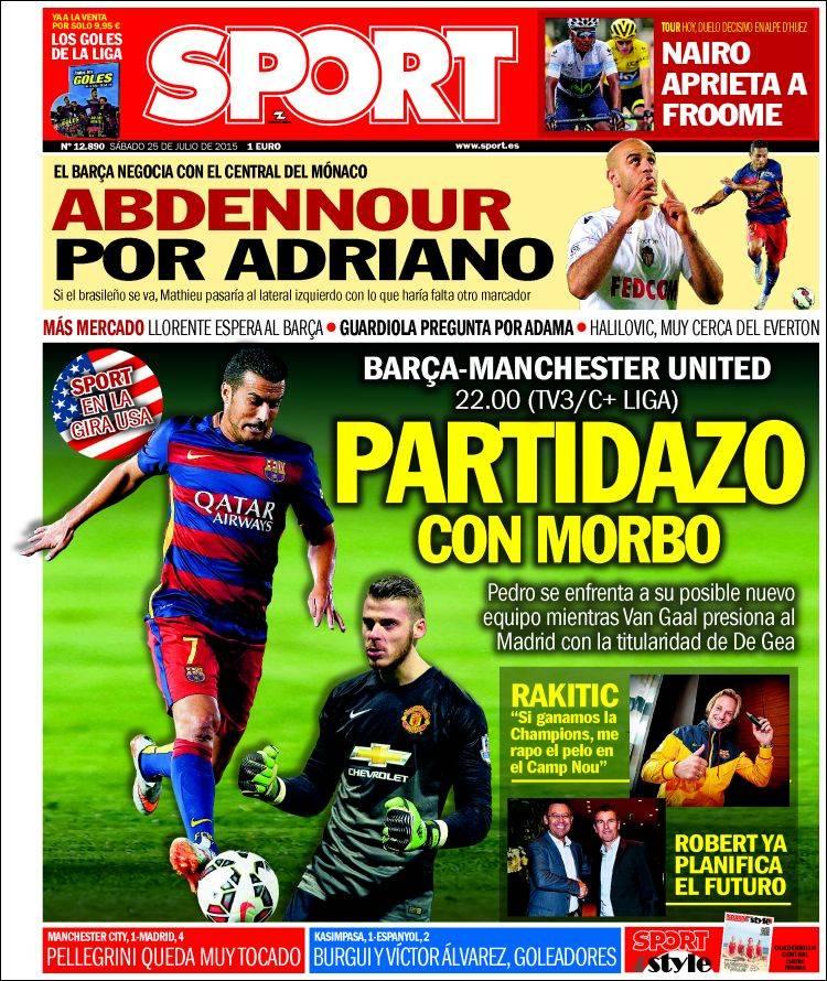 Sport Portada 25.07.15