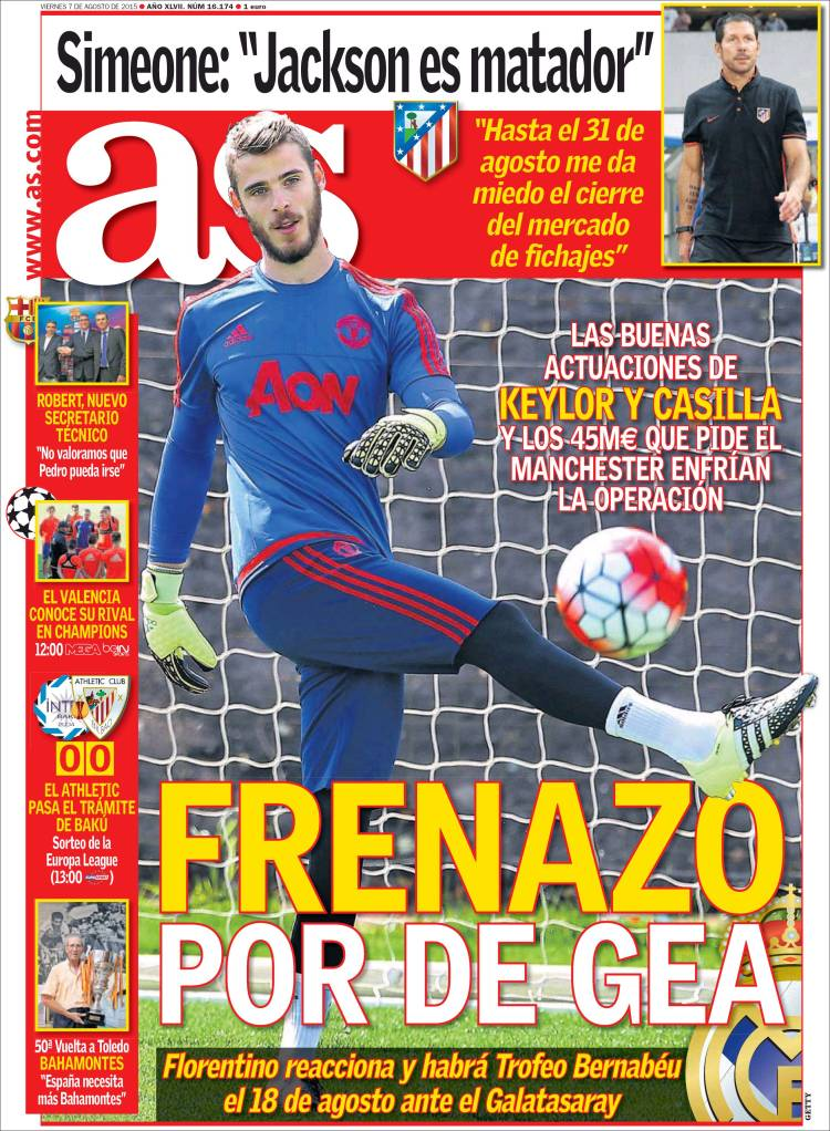 frenazo de gea as