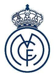 Escudo Real Madrid con corona