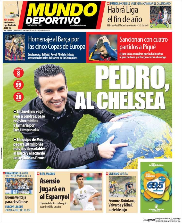 Mundo Deportivo 20.08.15