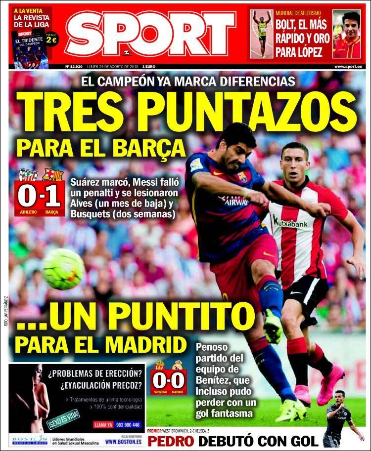 Sport Portada 24.08.15