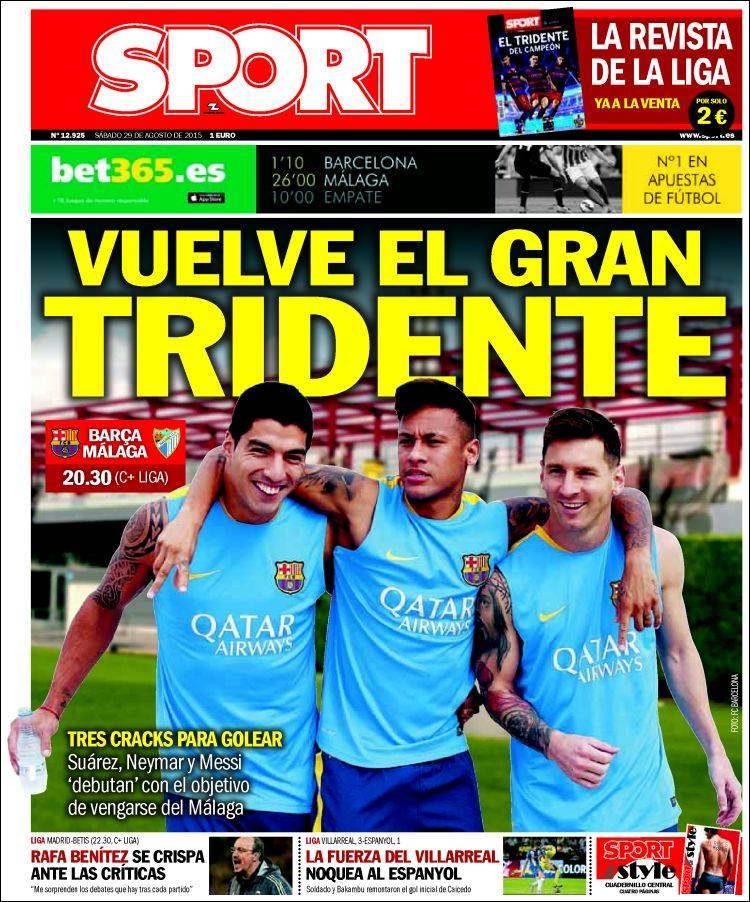Sport Portada 29.08.15