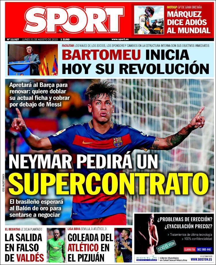 Sport 31.08.15