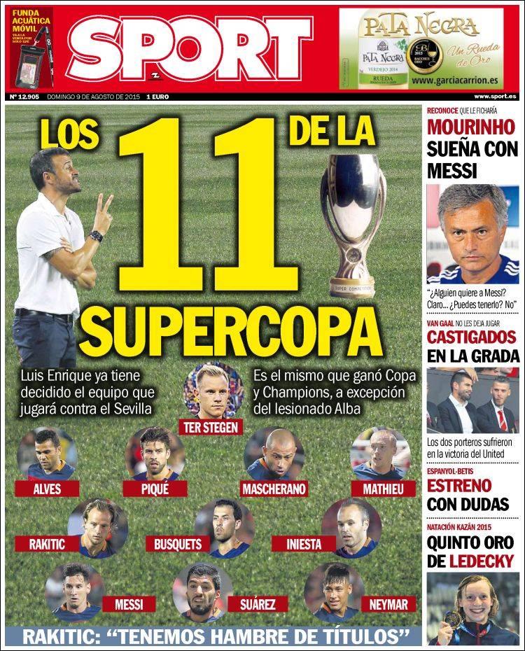 Sport Portada 09.08.15