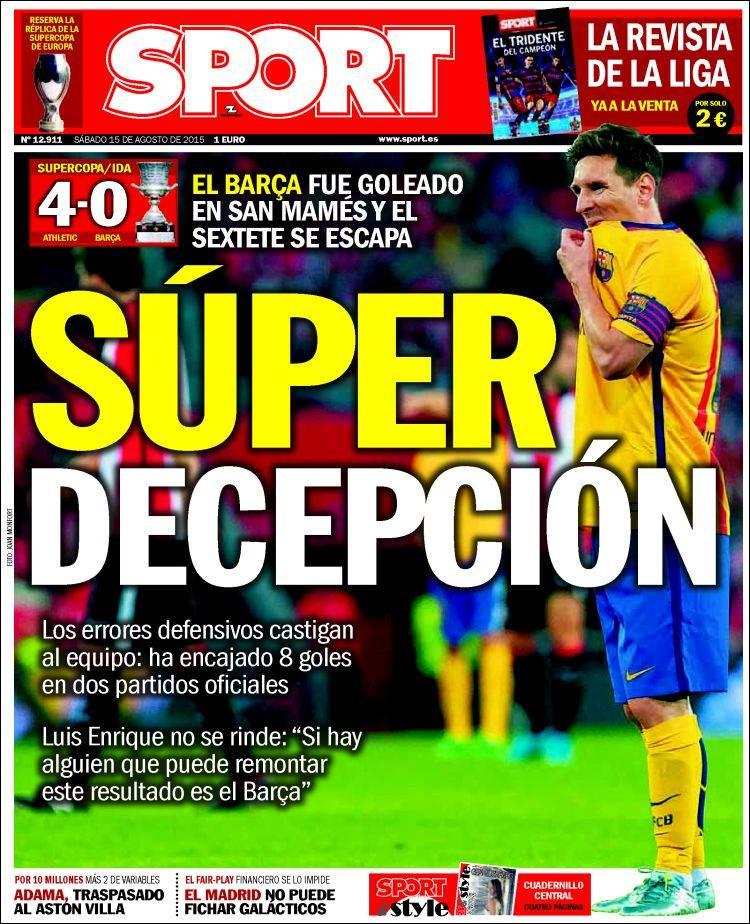 Sport Portada 15.08.15