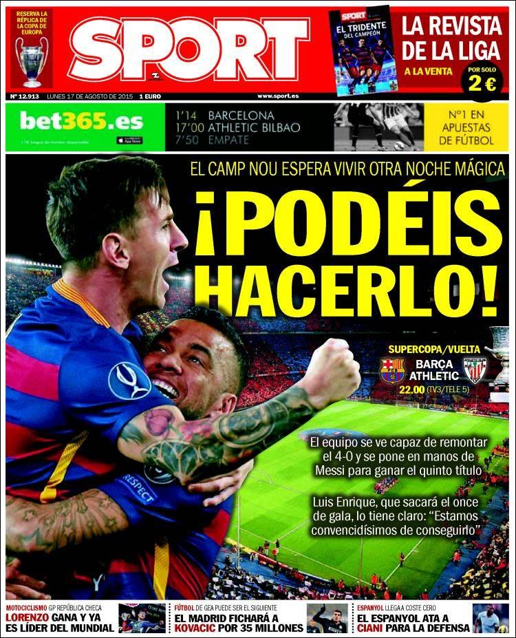 Sport Portada 17.08.15