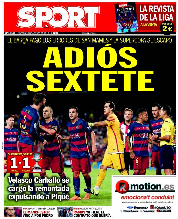 Sport Portada 18.08.15