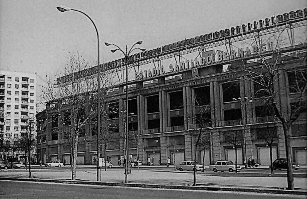 Santiago Bernabéu en 1973