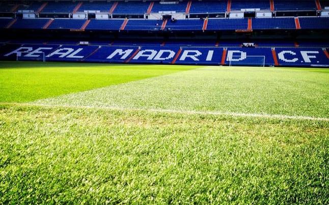 Estadio Bernabéu Césped