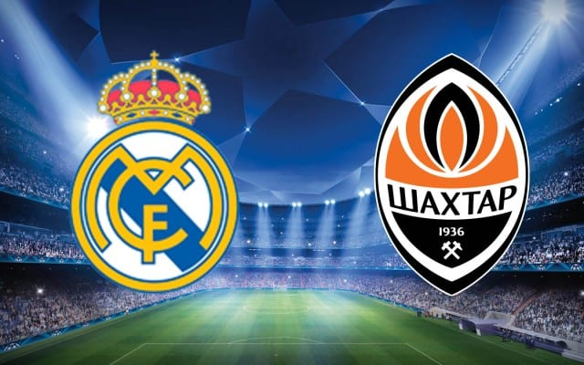 Real Madrid-Shakhtar