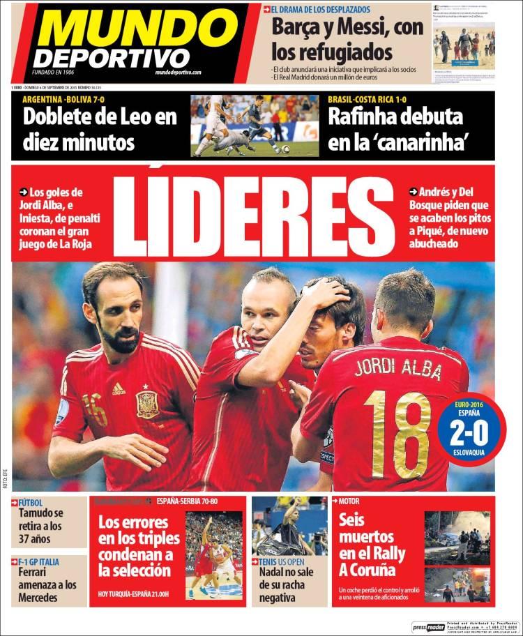 Mundo Deportivo 06.09.15
