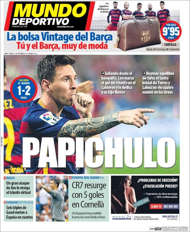 Mundo Deportivo 13.09.15