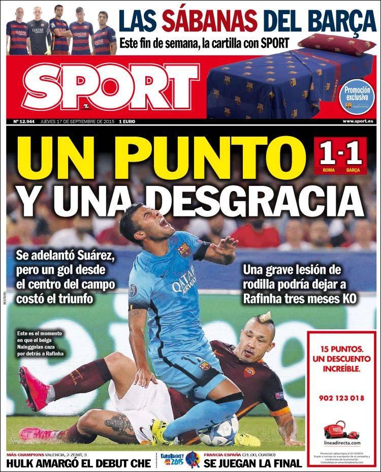 Sport Portada 17.09.15