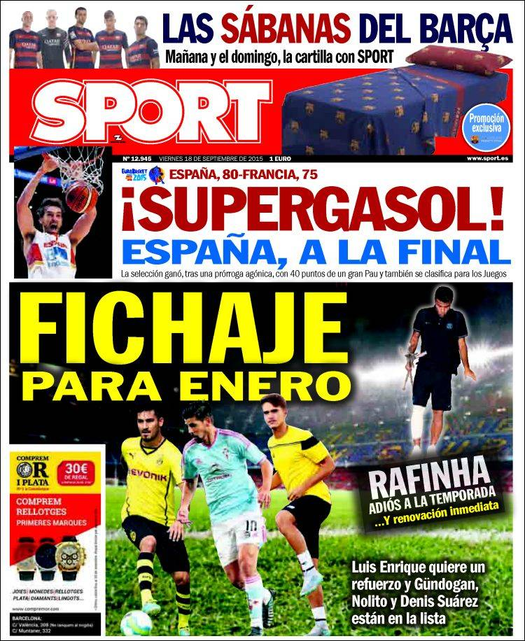 Sport Portada 18.09.15